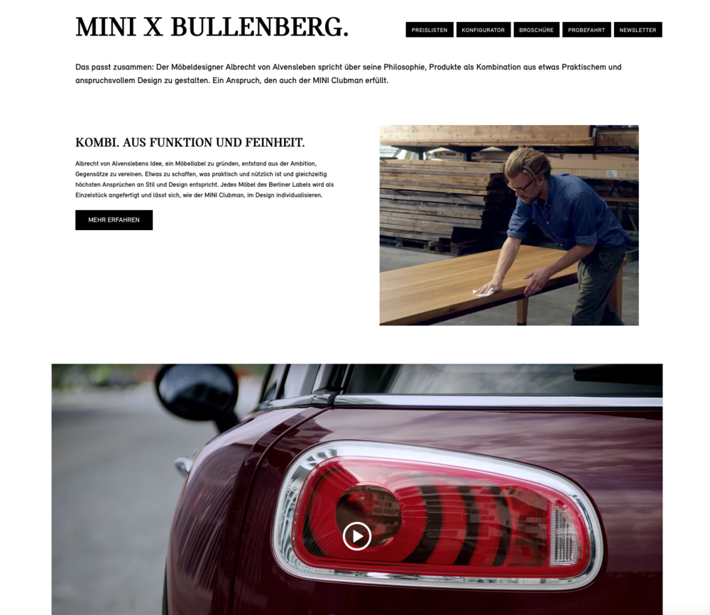 Mini x Bullenberg