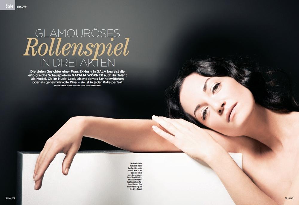 2007   Lancôme für Gala   Ein Glamouröses Rollenspiel in drei Akten >