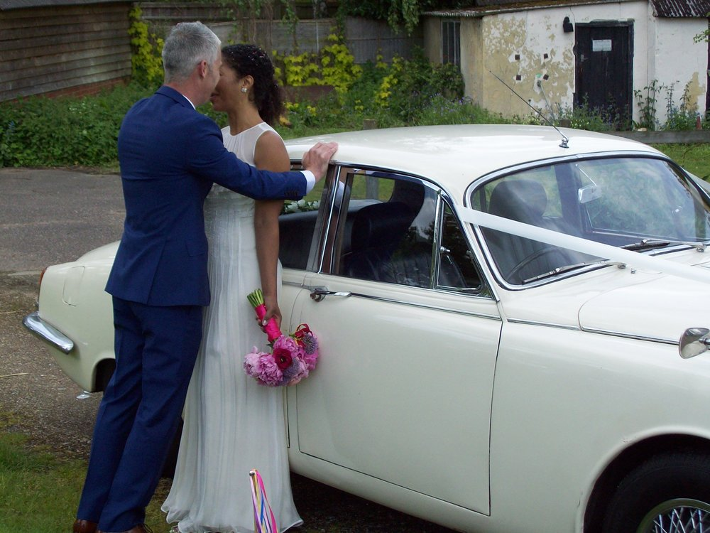 Morse Jaguar Wedding Car