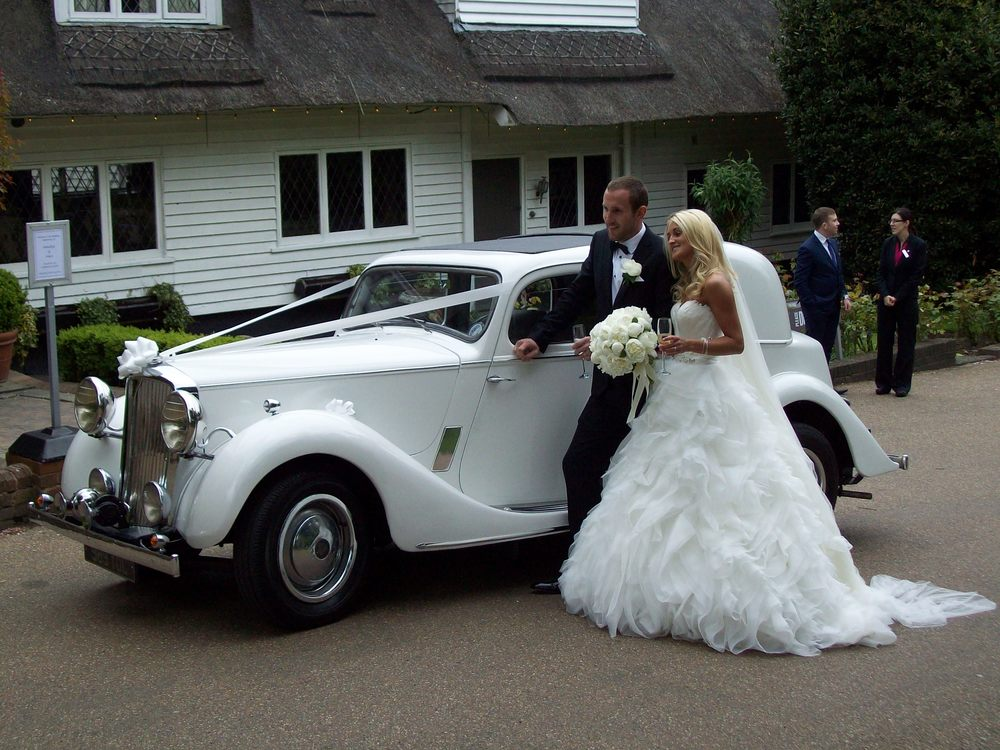 Vintage Sports Saloon — Kent & Medway Wedding Cars