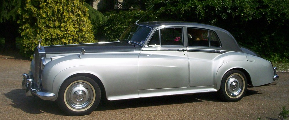 Rolls Royce Silver Cloud Mk1 for weddings in Kent.