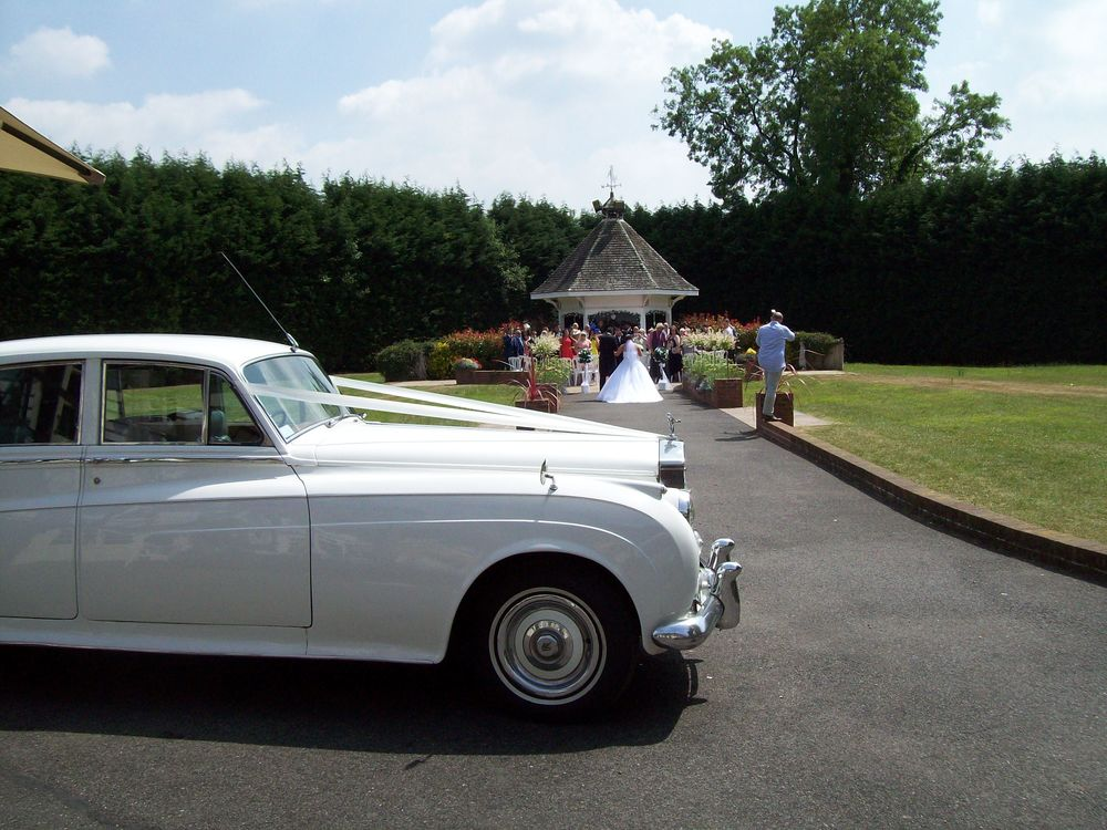 Kent wedding cars at Hop Farm, Paddock Wood.