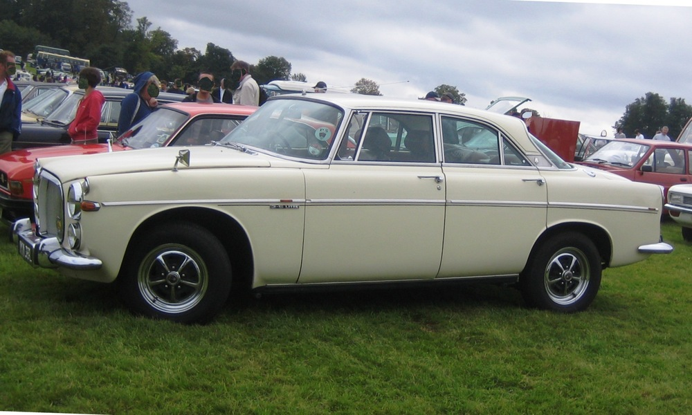 Rover P5B Coupe wedding car hire in Kent.