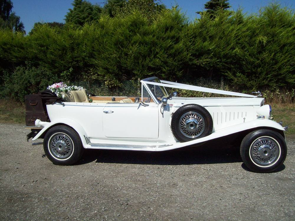 Beauford Vintage Open Tourer With Roof Down