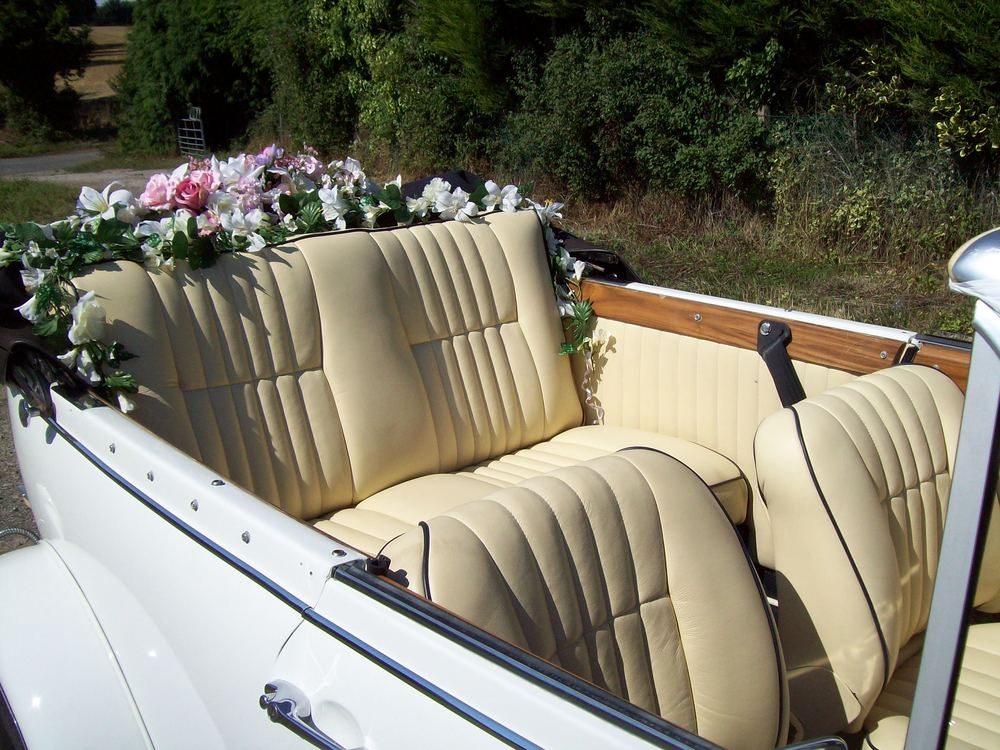 Beauford Cream Leather Interior