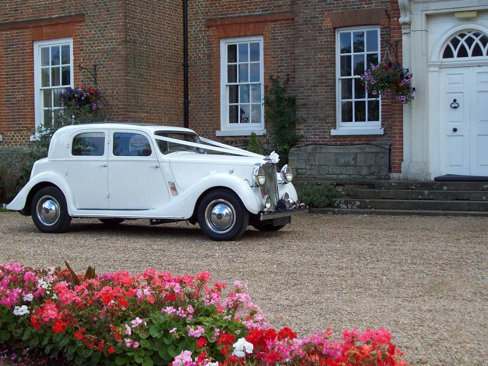 Vintage wedding car hire from Kent & Medway Wedding Cars