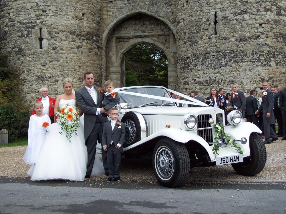Beauford Open Tourer at Cooling Castle Barn.