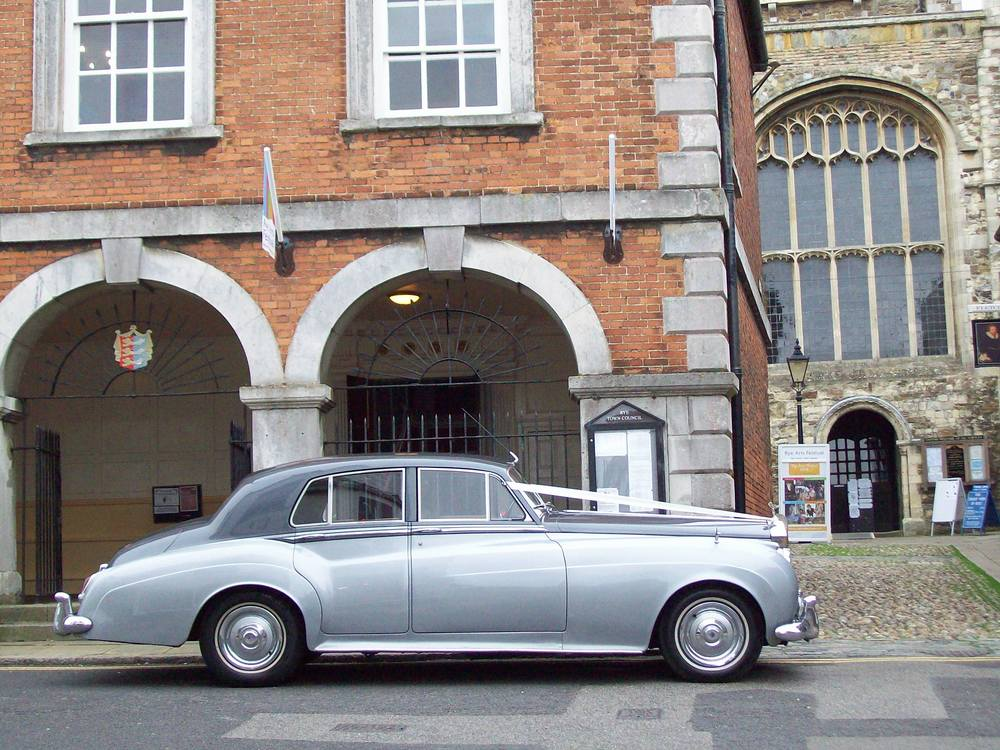 Rolls Royce Silver Cloud wedding in Kent
