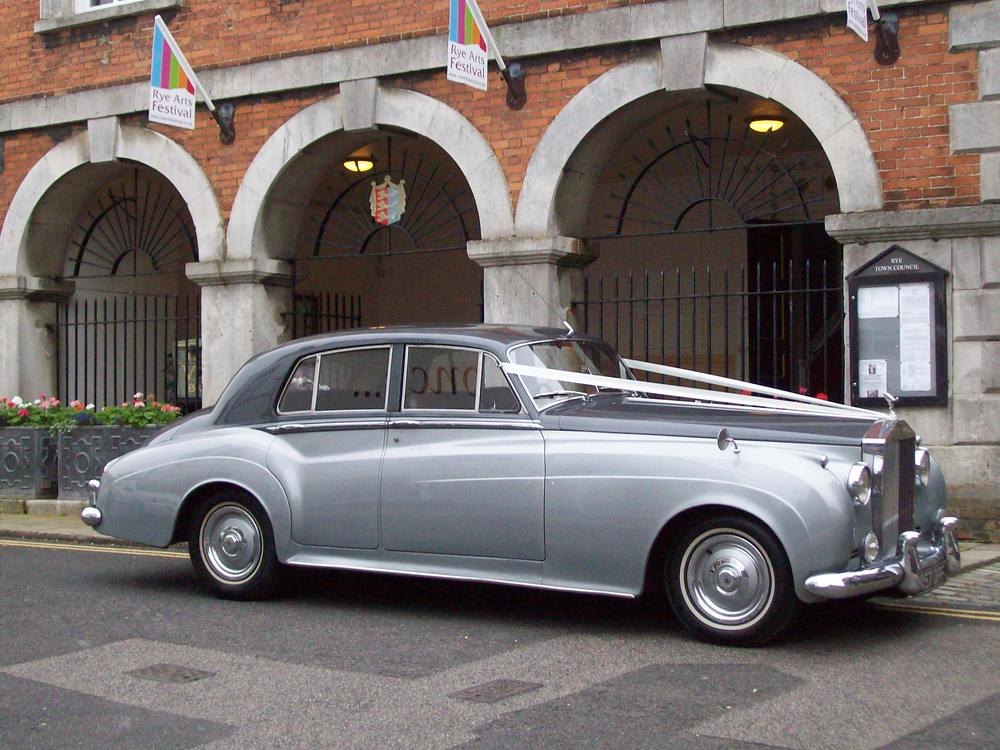 rolls royce silver cloud  wedding