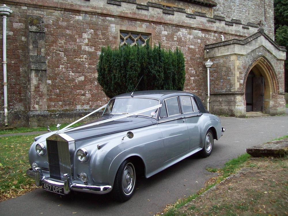 rolls royce wedding in Kent