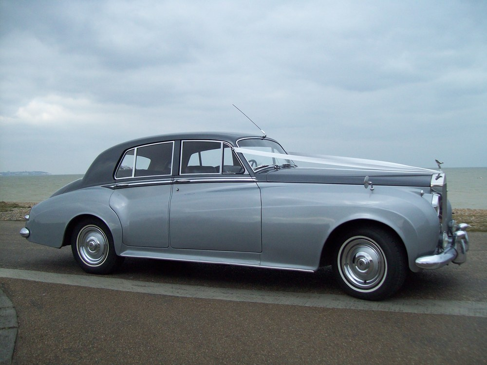 rolls royce silver cloud wedding car Kent