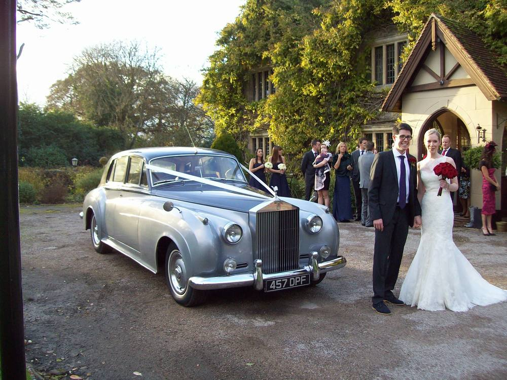 Rolls Royce wedding car hire.
