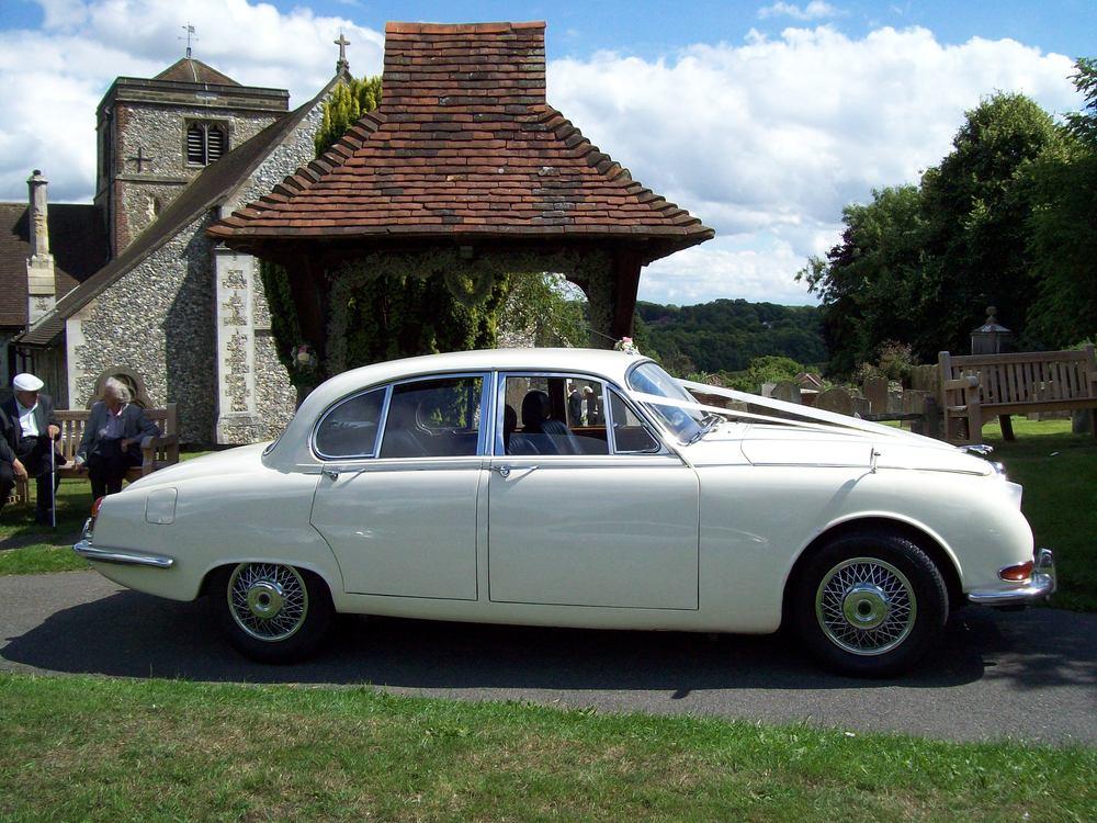 White Jaguar 'S' type Mk2