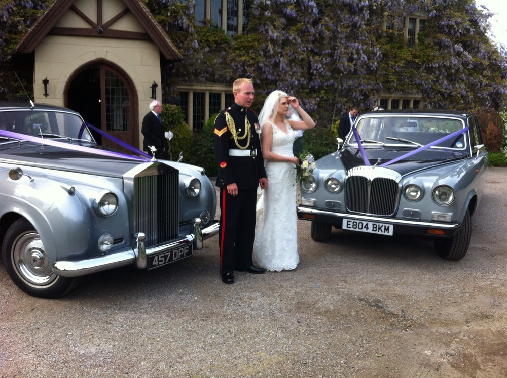 Rolls Royce Wedding with Daimler Limousine