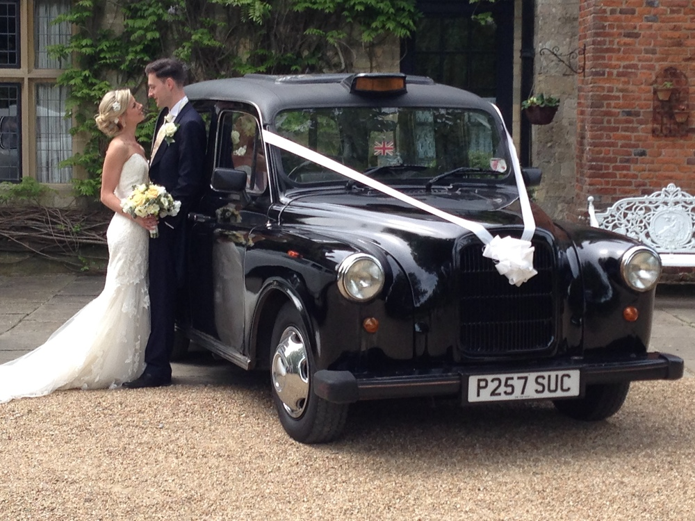 Black London Wedding Taxi