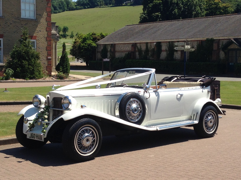 Beauford Vintage Style Open Tourer — Kent & Medway Wedding Cars