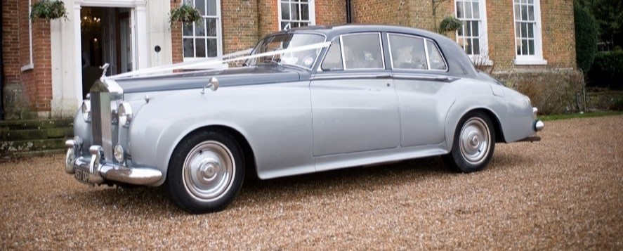 Rolls Royce Silver Cloud wedding hire in Kent