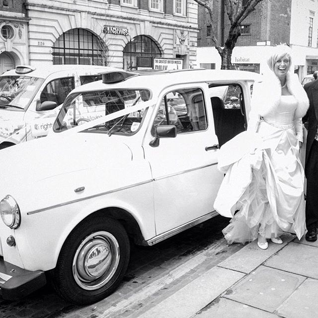 Choose the popular London Fairway Taxi for your wedding in 2016. #weddingday #weddingideas #weddingblog #kentbride #kentwedding