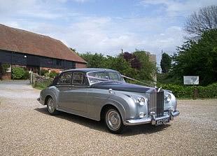 Silver Rolls Royce Silver Cloud