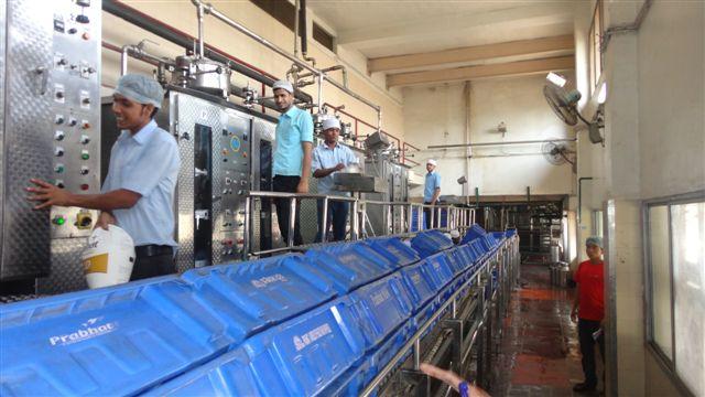 Igloo Dairy : Vashi Unit #2. Liquid Milk Pouch Packing Line