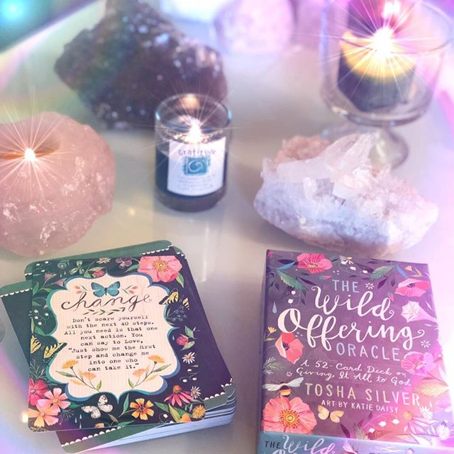 """🦋 Don't scare yourself with the next 40 steps.  All you need is that one next action.  You can say to Love, """" Just show me that one step and change me into one that can take it.""""🦋 Pulled some cards on IG live and Facebook today from #thewildofferingoracle by @toshasilver. Thought this card was a beautiful message for all 💞💖💞🦋🙏 Tag someone who might need this message today 💗 • • • • • #oraclecards #cardoftheday #divineguidance #innergrowth #spiritualguidance #spiritualdevelopment #innerguidance #spiritjunkies #risesisterrise #loveoverfear #youcandoit #youvegotthis #onestepatatime"""
