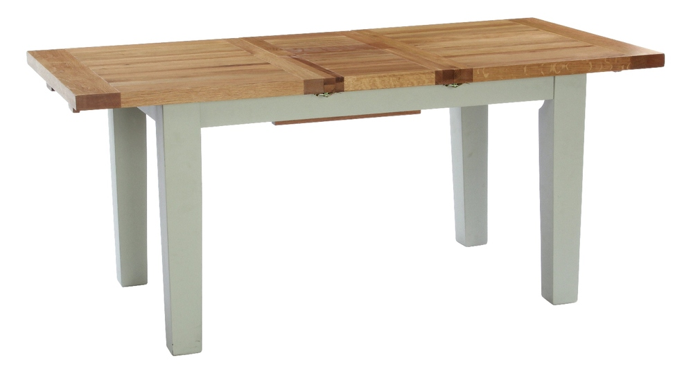 Extending Dining Table Colour-French Grey Available in 3 sizes: w 140 x d 90 x h 79 cm ( Extends to 180 cm )  € 720 Product Code: ANB005   w 180 x d 90 x h 79 cm ( Extends to 230 cm)  € 865 Product Code: ANB006 w 180 x d 100 x h 79 cm Opens to 230 cm € 876 Product Code: ANBVXD002