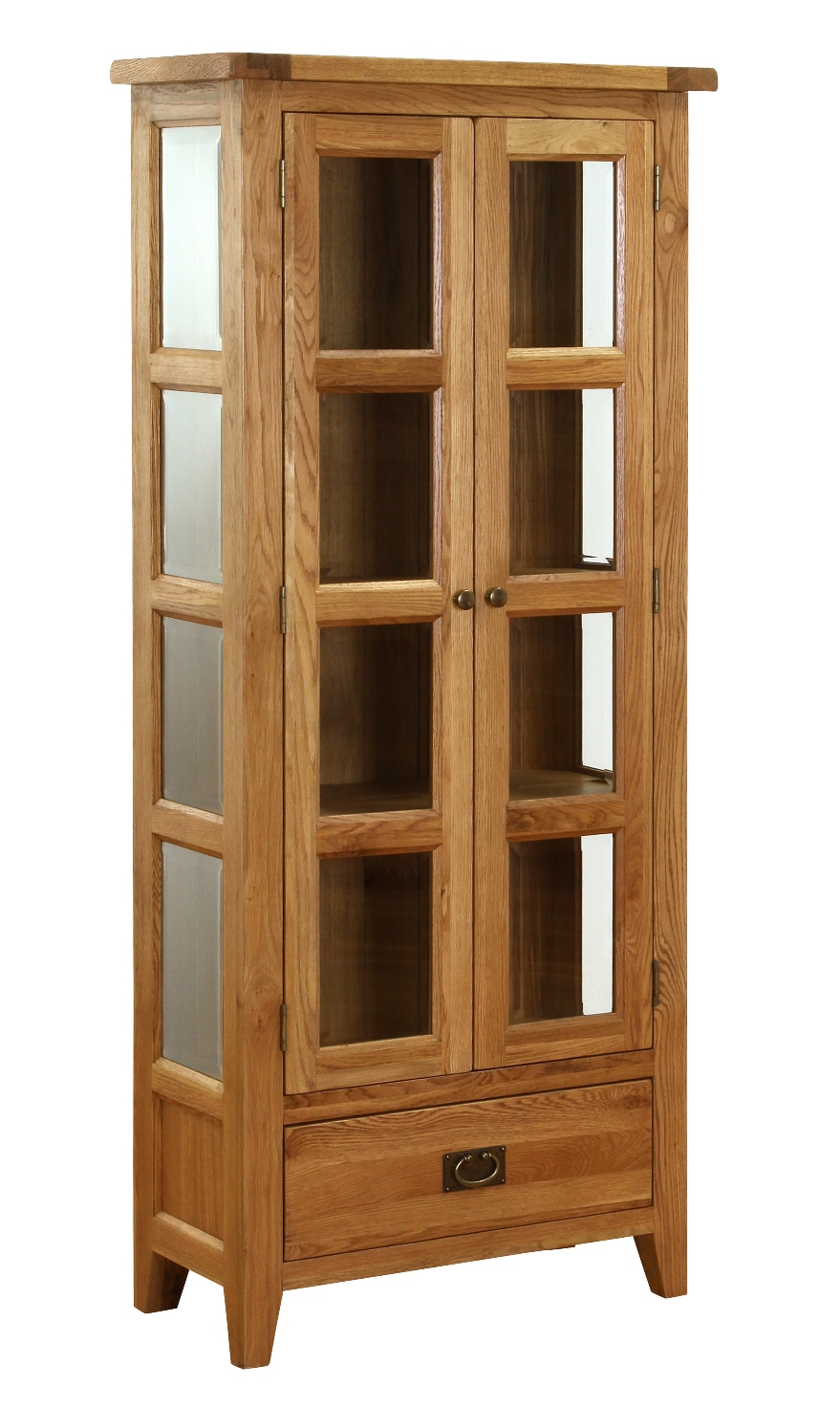 GLAZED DISPLAY CABINET w 78 x d 36 x h 180 cm € 695 Product Code: NB032