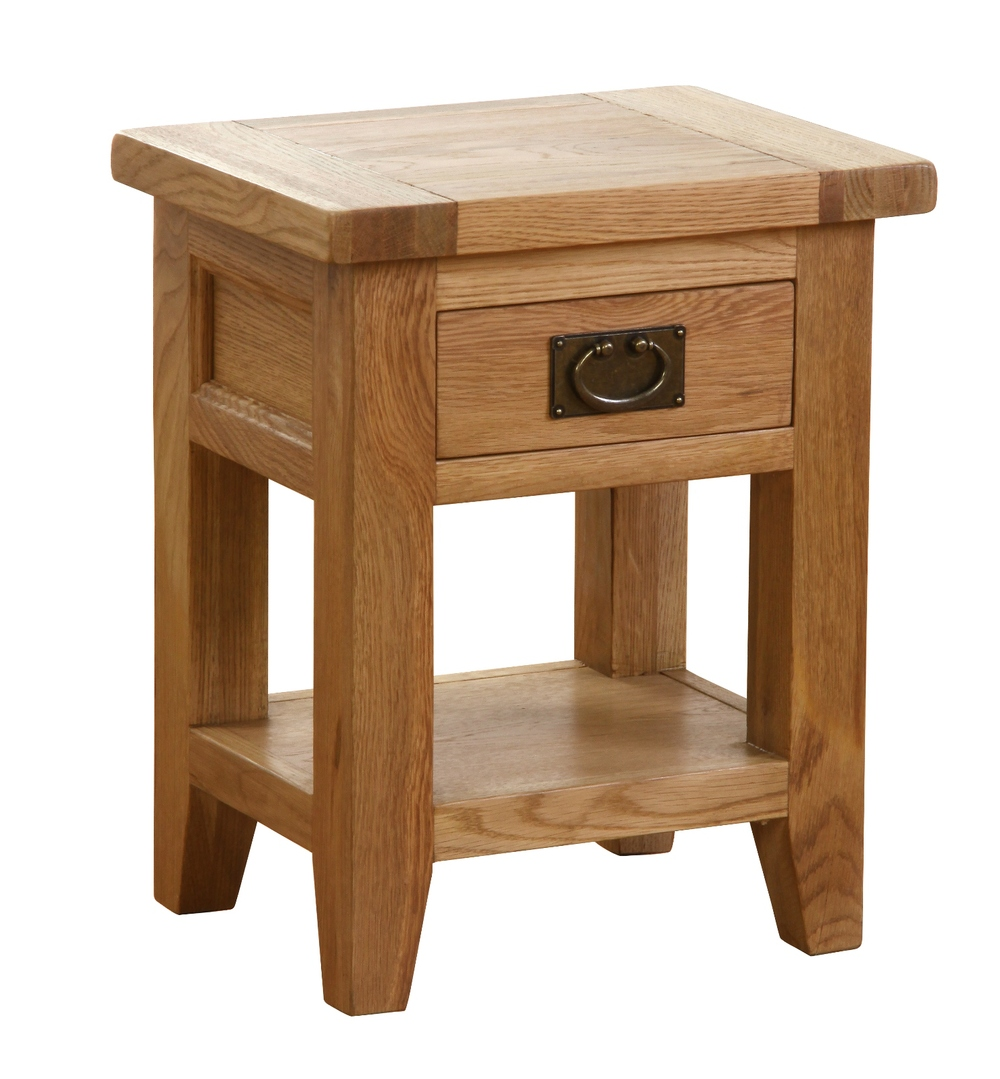 1 DRAWER BEDSIDE TABLE w 45 x d 35 x h 55 cm € 195 Product Code: NB023