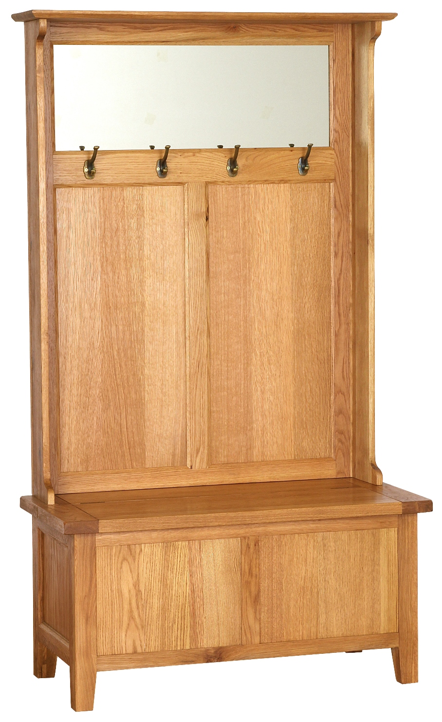 STORAGE UNIT WITH COAT RACKS AND MIRROR w 101 x d 45 x h 180 cm € 725 Product Code: NB075