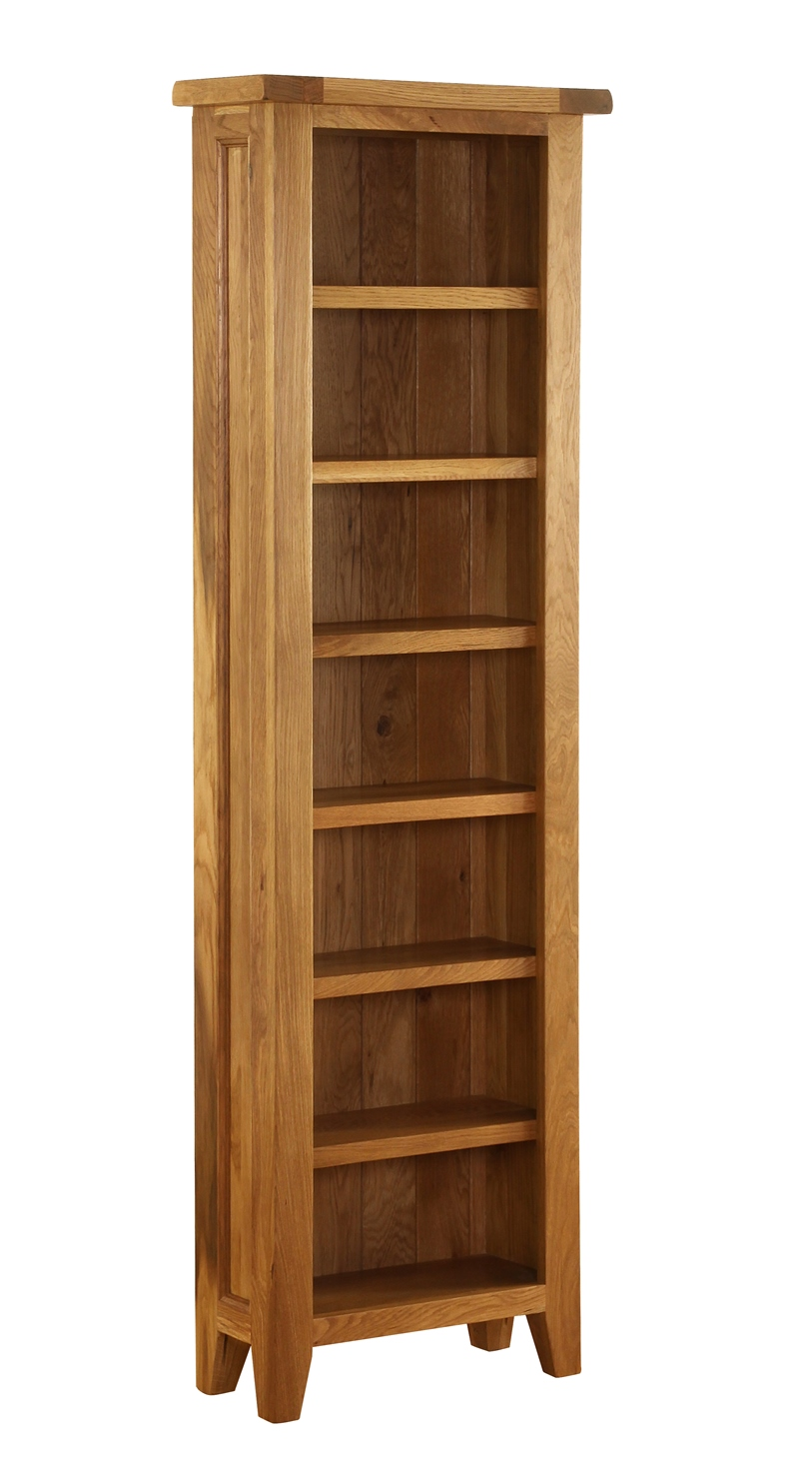 OAK COLLECTION CD/DVD BOOKCASE w 56 x d 24 x h 185 cm € 352 Product Code: VXA011