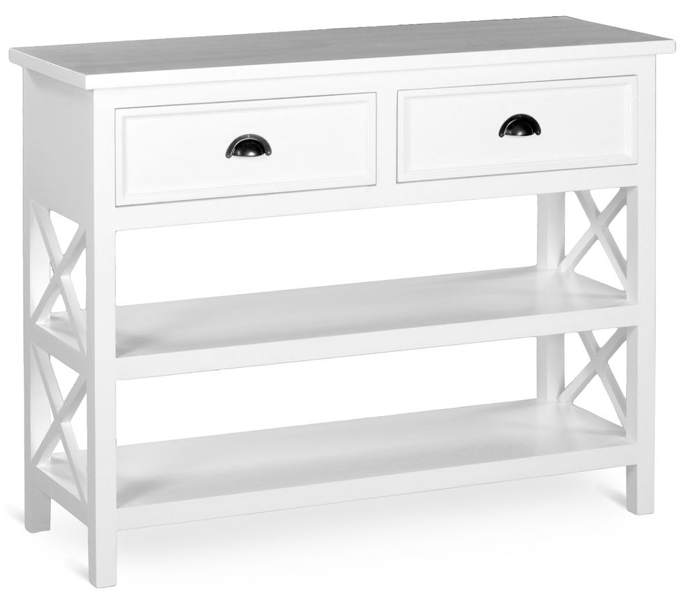 HERITAGE BASIC LINE, SIDE TABLE, 2 DRAWERS  w 120 x d 40 x h 90 cm  € 620 ( NOW € 434 - FOR LIMITED TIME ONLY!! )  Product Code: BL-3300  COLOUR OPTIONS: This piece may be ordered in any of the Heritage colours and finishes.