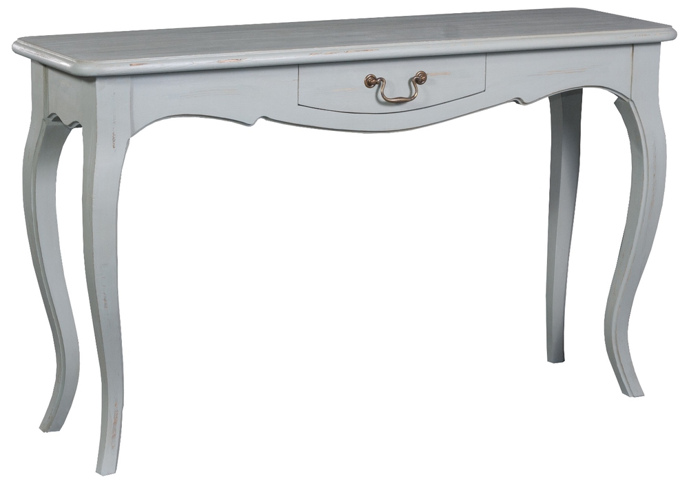 HERITAGE FRENCH LINE DRESSING TABLE/ SIDE TABLE  w 135 x d 40 x h 80 cm  € 581 ( 30% Off - Now € 406.70 )  Product Code: FL-7003  This piece may be ordered in any of the Heritage colours and finishes.