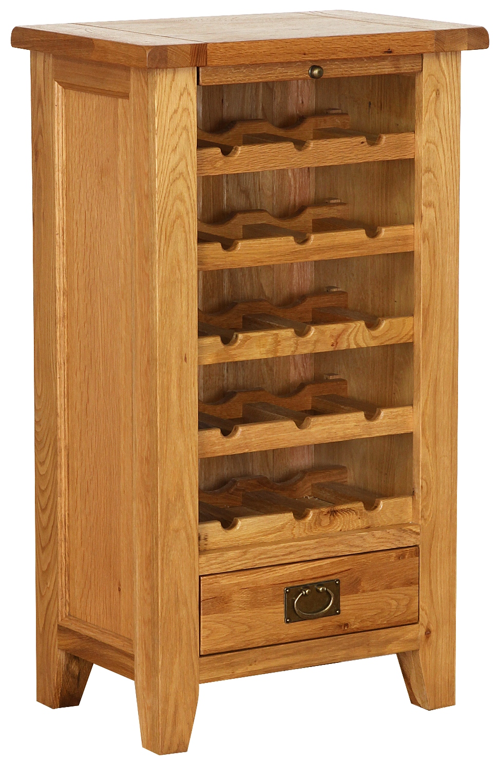 OAK COLLECION WINE RACK  w 60 x d 40 x h 106 cm  € 415  Product Code: NB045