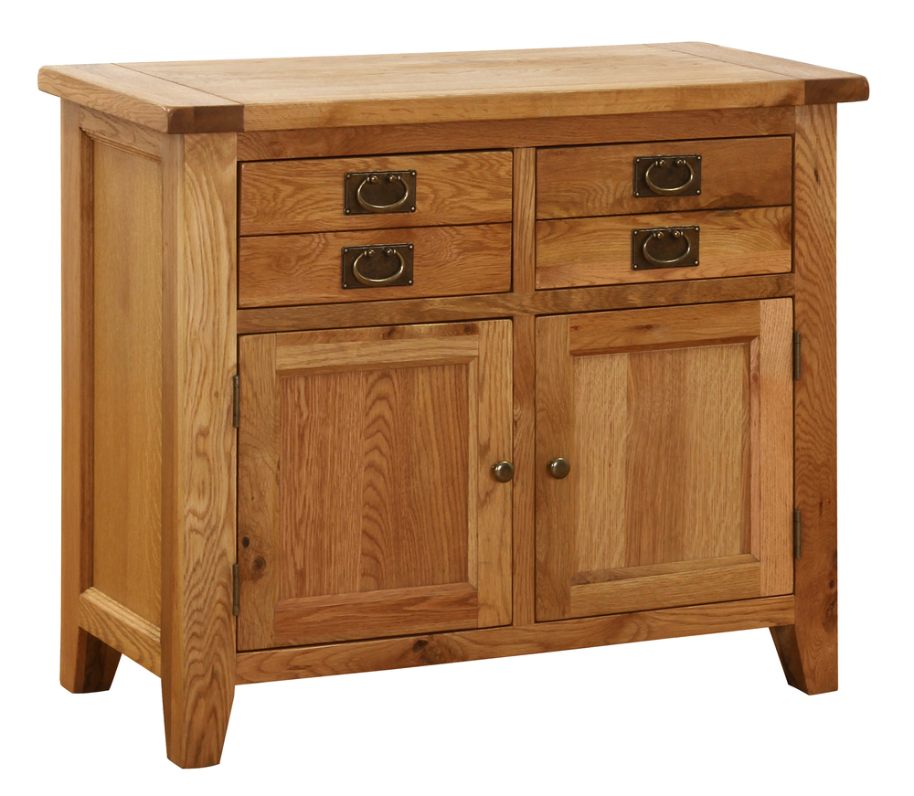 OAK COLLECTION 2 DRAWER, 2 DOOR, SIDEBOARD/ DRESSER BASE w 100 x d 45 x h 85 cm € 679 Product Code: NB001B