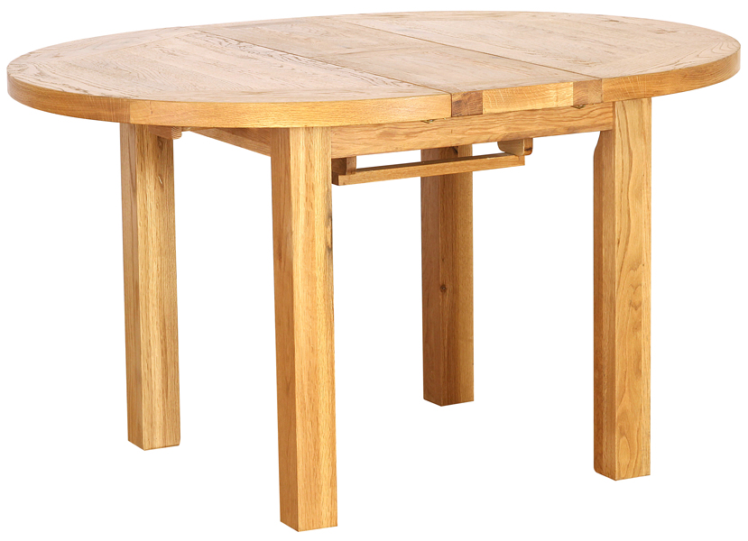 ROUND EXTENDING DINING TABLE  w 110 ( opens to 140 cm) x d 110 x h 79 cm   € 974  Product Code: NB082