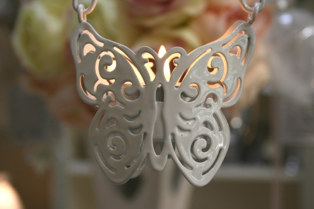 Butterfly Tea Light Holder ( Hanging ) €2.50