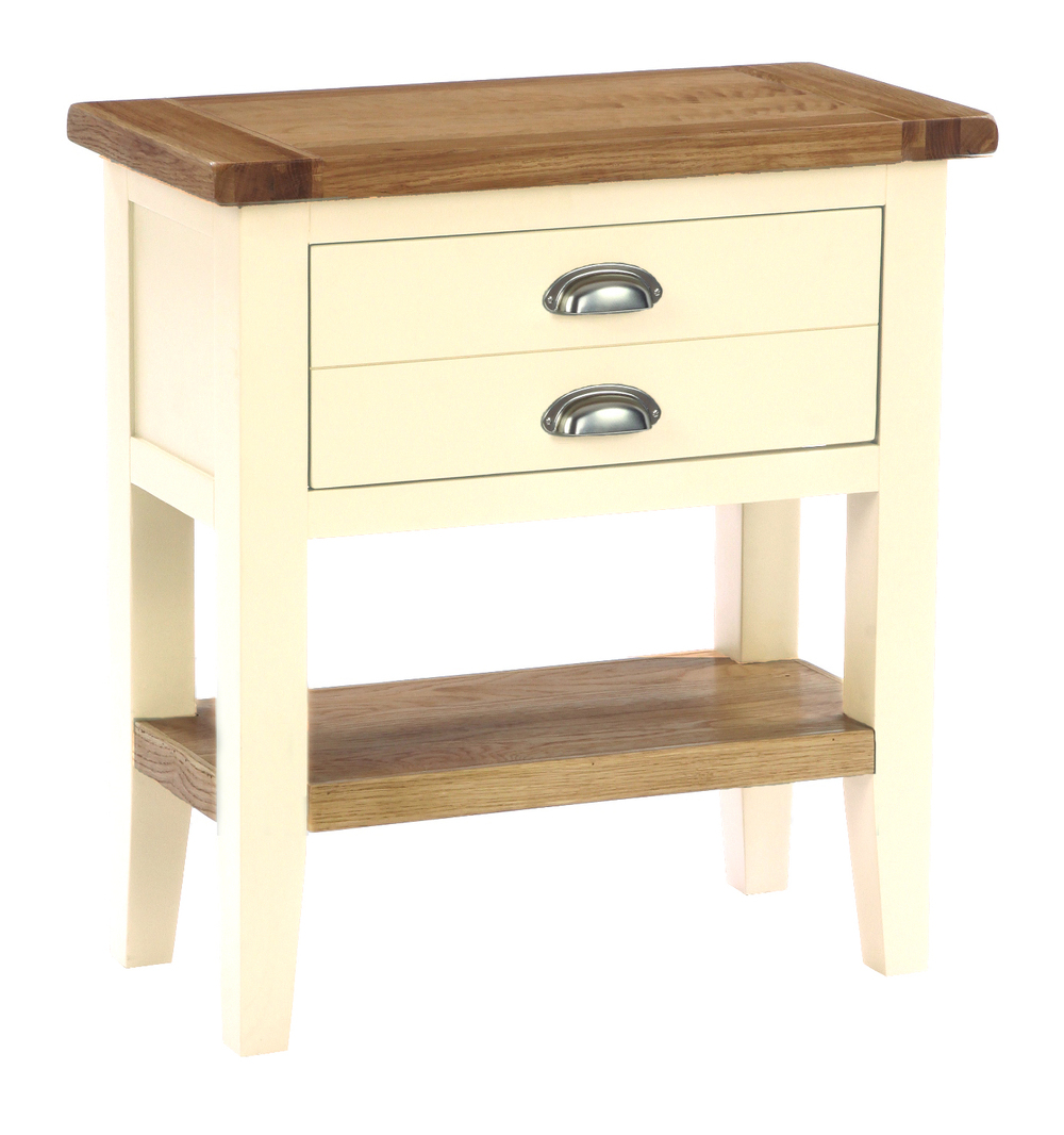 1 Drawer Console Table Colour-Ivory w 70 x d 35 x h 75 cm € 255 Product Code: CANB017