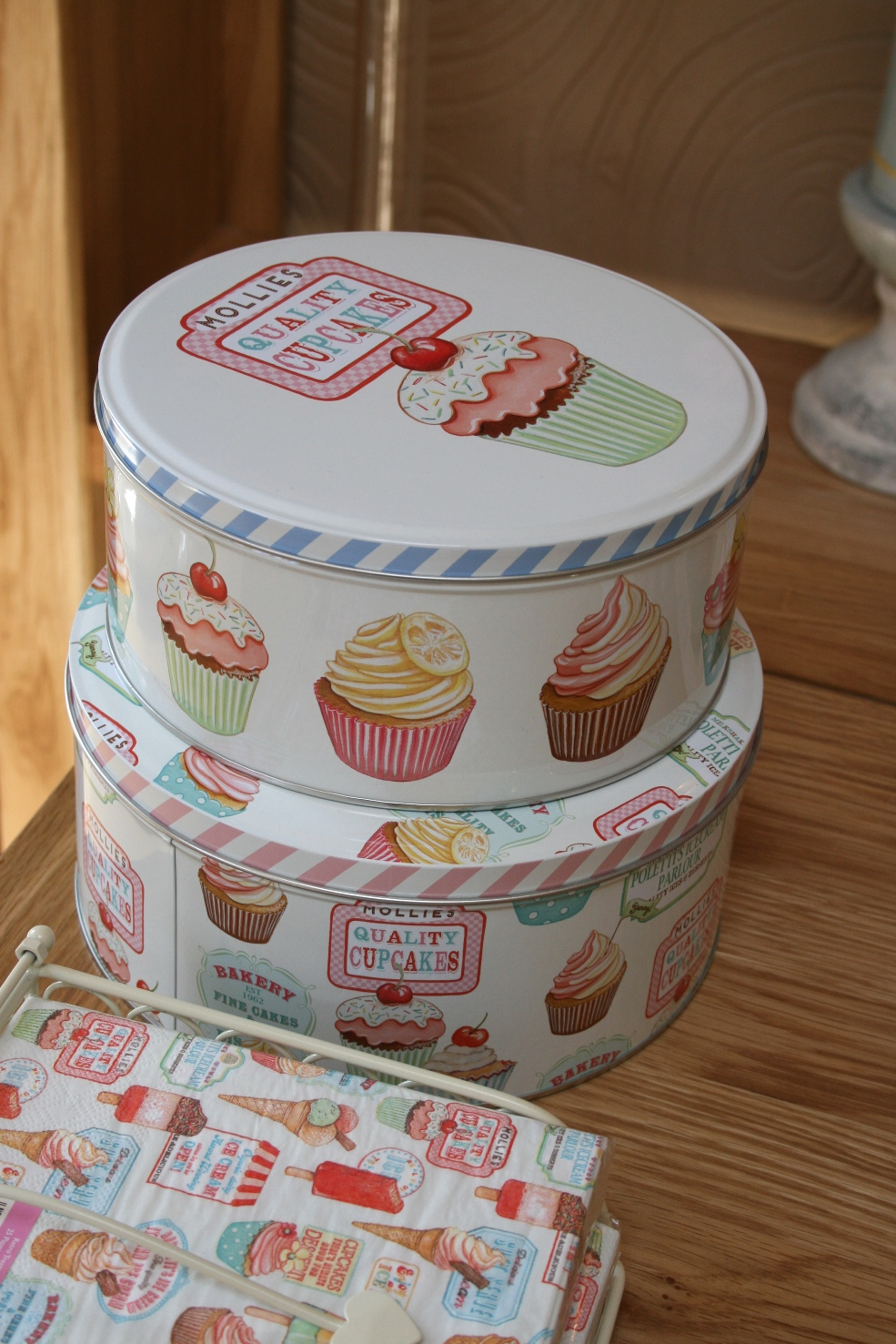 Set Of 2 Cake Tins CRT-5130524 -  €19.00