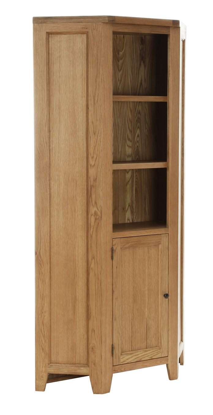 CORNER DISPLAY CABINET   W100 x D40 x H200cm   €850  Product Code: NB095