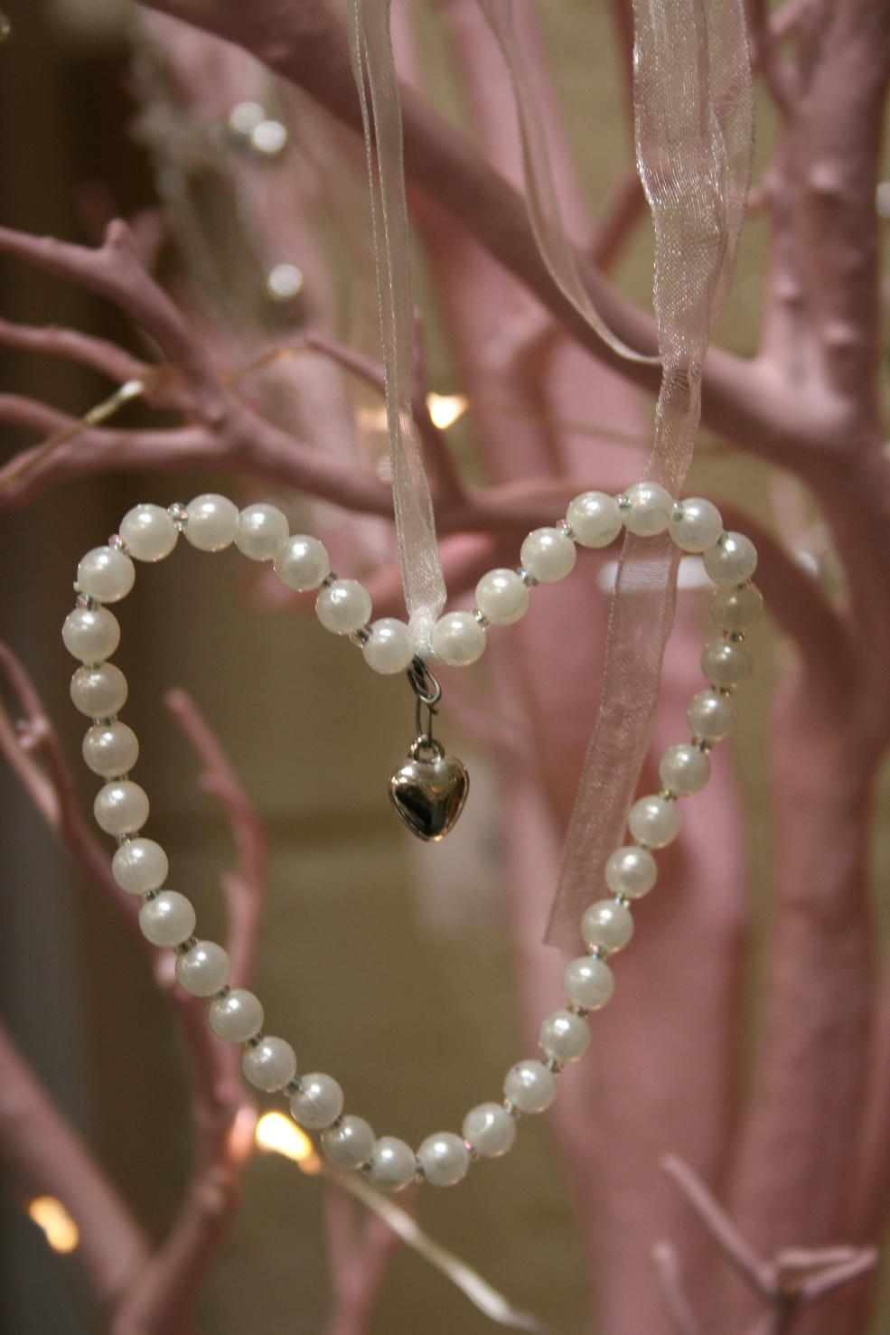 Pearl Heart Decoration - €3.50
