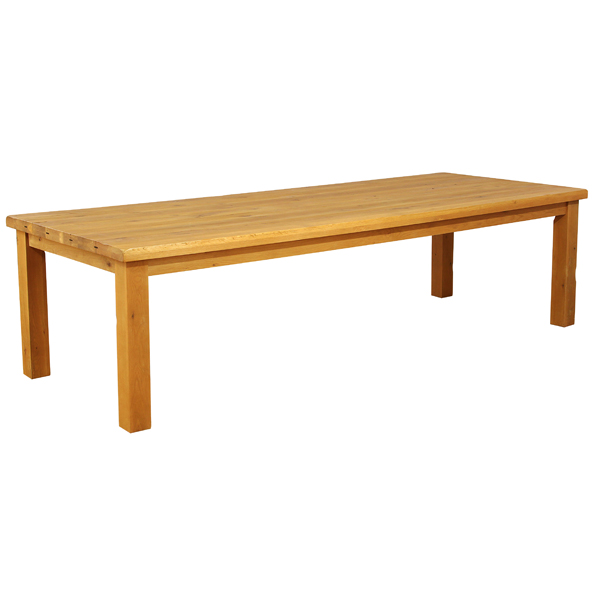 PLANK OAK DINING TABLE ( 4 sizes )  Product Code: OP-040   240 x 100 x 80 cm     €1295