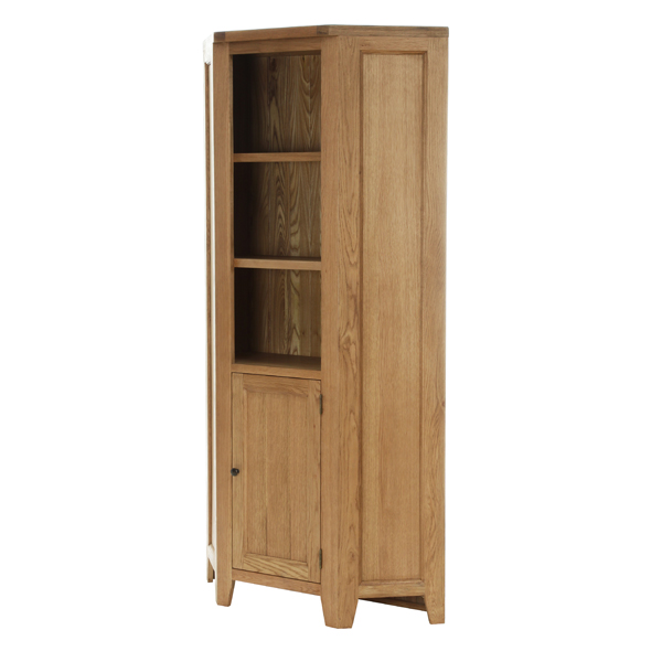 Corner Display Cabinet with 1 Door 2 Shelves €691 Product Code: NB095