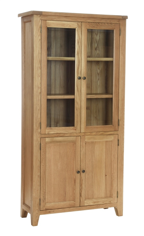 DISPLAY CABINET WITH 2 GLAZED DOORS €965 Product Code: NB094