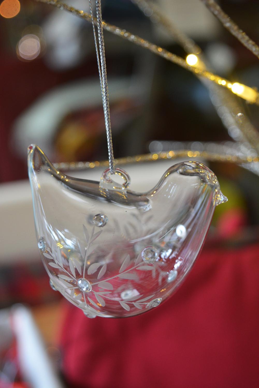 Glass Bird Decoration  €2.99
