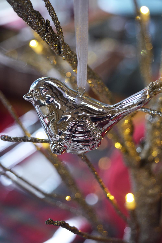 Bird Decoration (Silver) €2.40