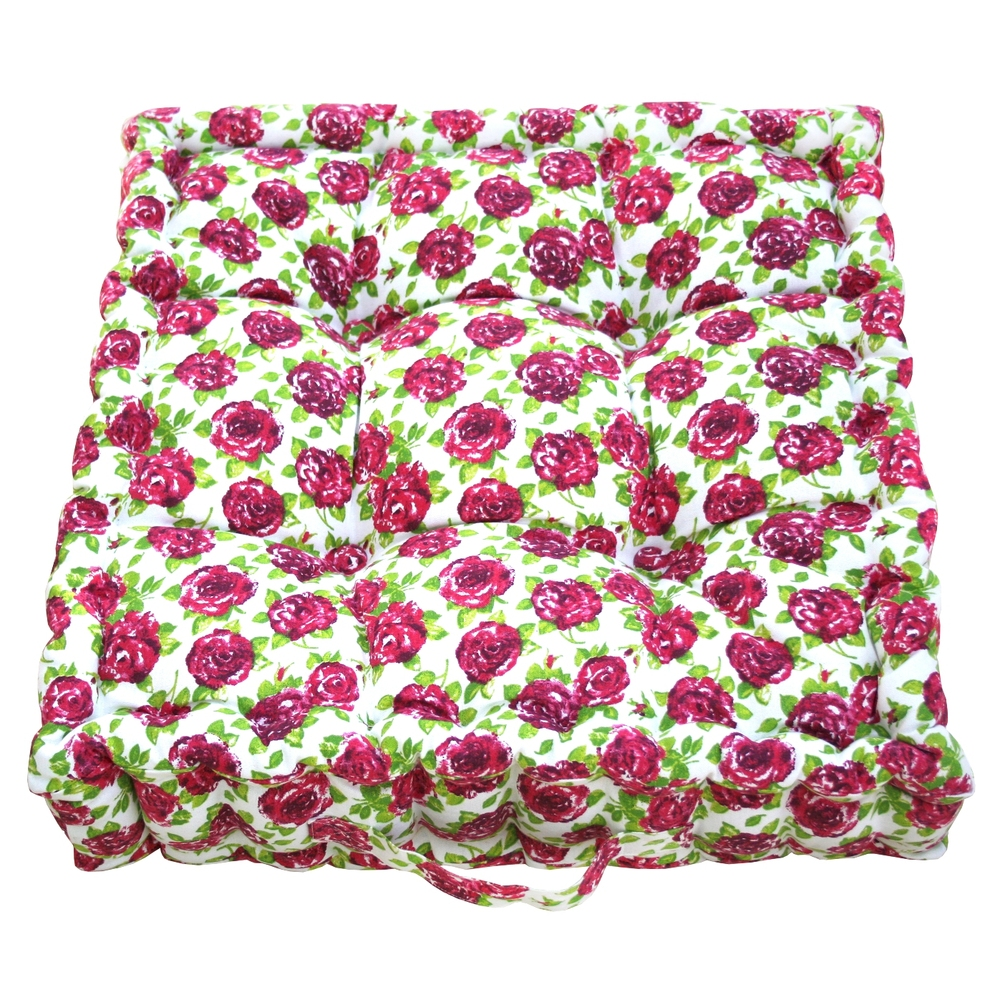 Pink Rose Garden Cushion    ~ €43.00