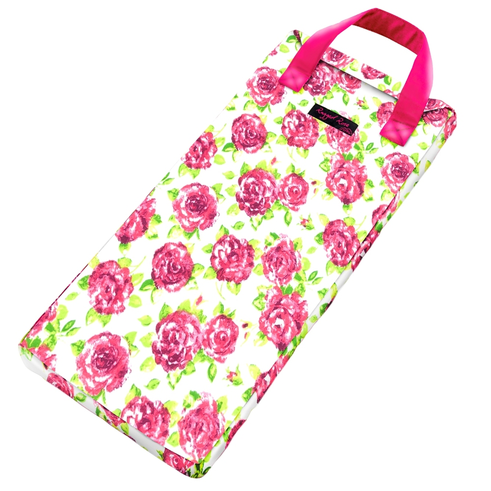 White & Rose Garden Kneeler  €23.00