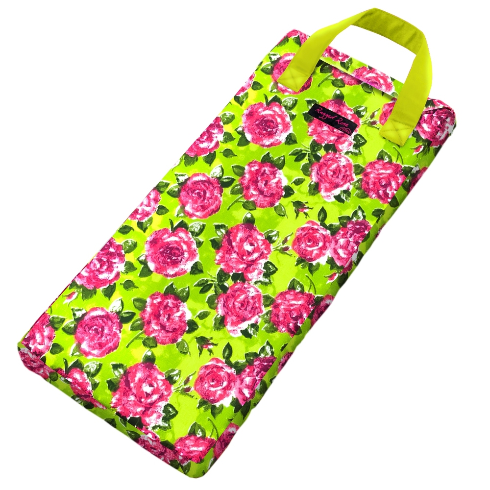 Lime & Rose Garden Kneeler  €23.00