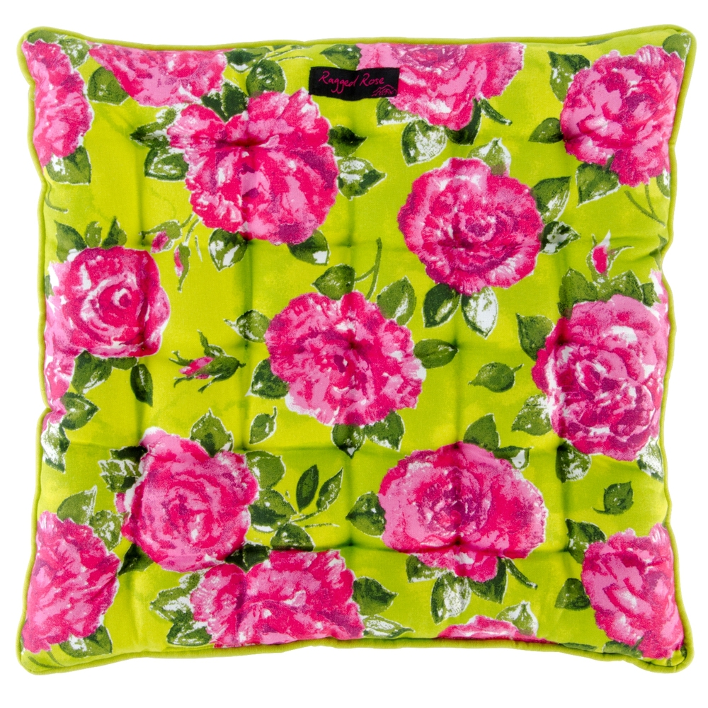 Lime & Rose Seat Pad Cushion ~ €21.50