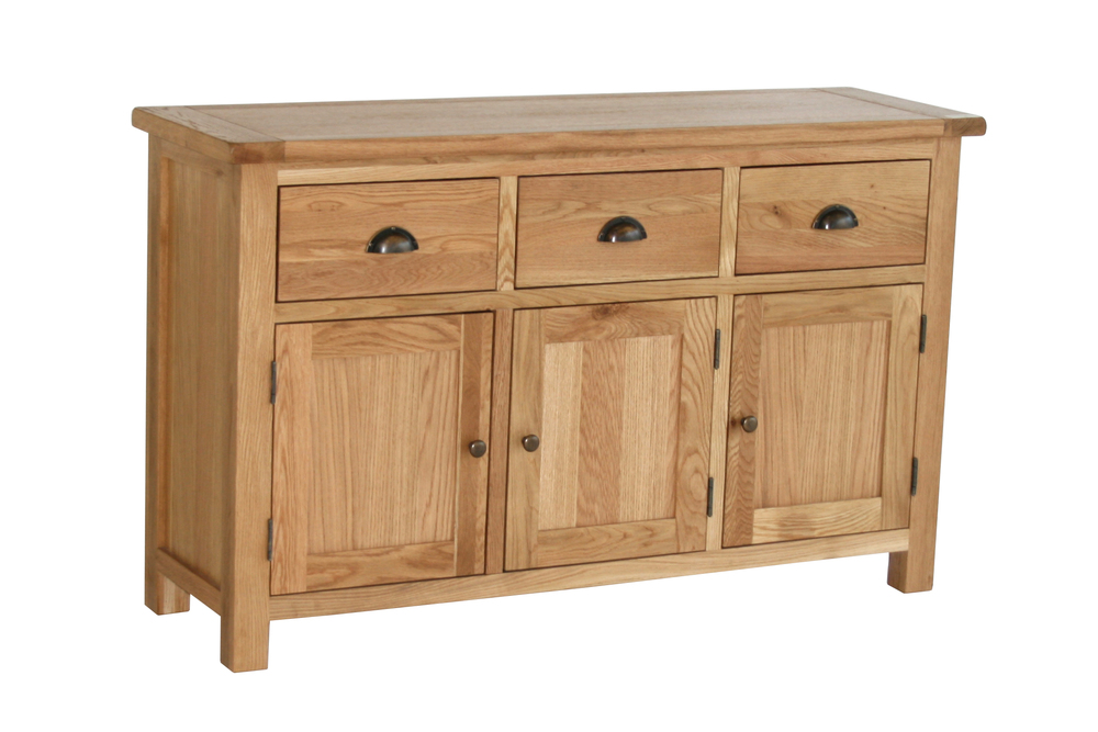 SIDEBOARD WITH 3 DRAWERS & 3 DOORS W139 x D35 x H115cm €625 Product Code: SAL013-V